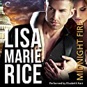 Midnight Fire (       UNABRIDGED) by Lisa Marie Rice Narrated by Elizabeth Hart