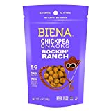 Biena Chickpea Snacks, Rockin' Ranch, 5 Ounce
