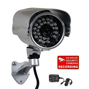 VideoSecu 600TVL IR Outdoor Security Camera Built-in 1/3
