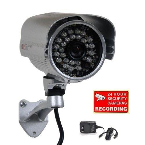 Imagen de VideoSecu 600TVL IR al aire libre de cámaras de seguridad 1/3
