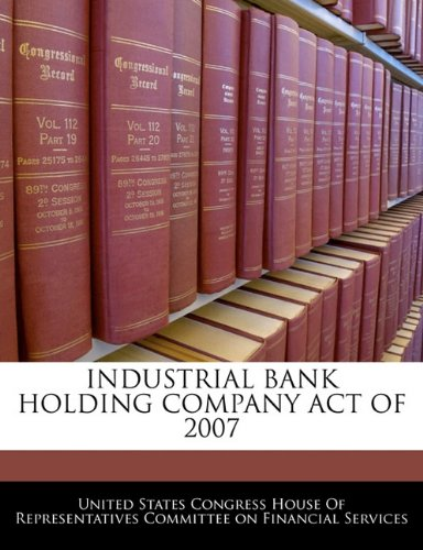 industrial-bank-holding-company-act-of-2007