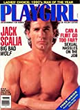 img - for PLAYGIRL MAGAZINE, issue dated (paperback) January 1990: Jack Scalia BIG BAD WOLF; sexual hassles on the job book / textbook / text book