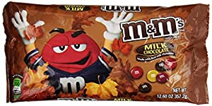 M&M's Halloween Milk Chocolate Candy, 12.60-Ounce (Pack of 6)