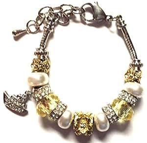 Amazon Bella Perlina  Pandora Collection Bracelet