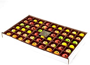 Oh Nuts Gourmet Marzipan 54-Piece Assorted Fruit Box Holiday Gift Tray