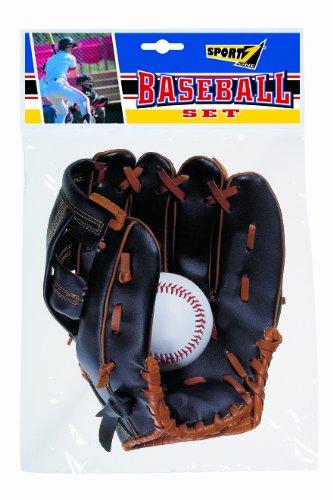 Set Baseball SPORT ONE guanto + palla microfibra
