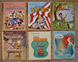 img - for Little Golden Books: Set of 6 Walt Disney Stories (Grandpa Bunny ~ Cinderella ~ Bambi ~ Dumbo ~ Finding Nemo ~ The Little Mermaid) book / textbook / text book