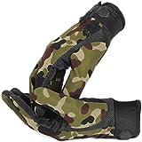 EJY Unisex Militaire Combat Tactique Airsoft Camping Tir Sport Nylon Gants d'entraînement Combat Doigts Complet Camouflage