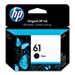 HP 61 (CH561WN) Black Original Ink Ca...