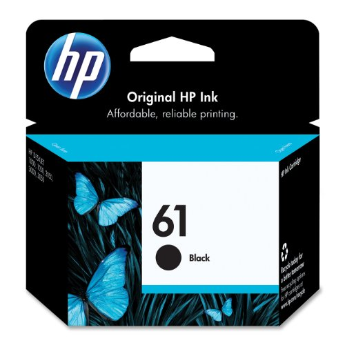 Hp 61 (Ch561Wn) Black Original Ink Cartridge