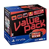 PlayStation Vita Value Pack Wi-Fiモデル レッド/ブラック