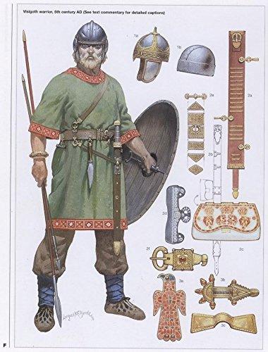 Il museo tabelle di scarico,-5A MA Century Visigoth-Poster formato A3