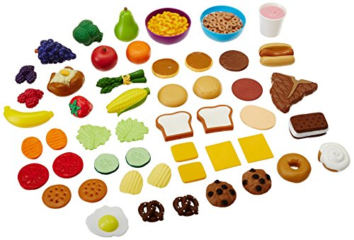 Play Food Set Toys : Learning resources new sprouts complete play food set