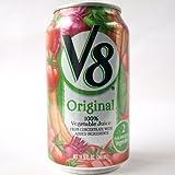 キャンベル V8 100% ベジタブルジュース 340ml×24缶