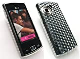 EMARTBUY LG GM360 VIEWTY SNAP HEXAGON PATTERN GEL SKIN COVER/CASE CLEAR