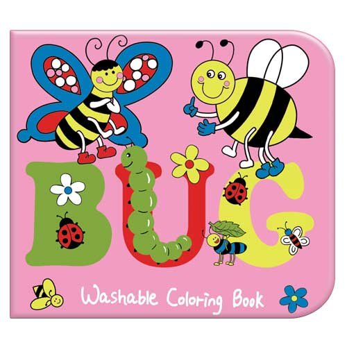 Bug Washable Coloring Book - 1