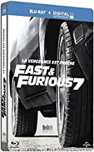 Fast & Furious 7 [Blu-ray + Copie digitale - Édition boîtier SteelBook]