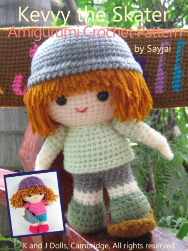 Kevvy the Skater Amigurumi Crochet Pattern