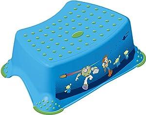Juego de 2 Set Disney Toy Story azul INODORO Pieza sobrepuesta + Taburete Entrenamiento control de esfínteres
