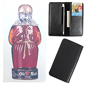 DooDa - For Videocon A45 PU Leather Designer Fashionable Fancy Case Cover Pouch With Card & Cash Slots & Smooth Inner Velvet