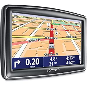 TomTom 5 inch Portable GPS Navigator with Spoken Turn-by-turn Instructions, IQ Routes Technology, Advanced Lane Guidance - Model No.  XXL 540TM
