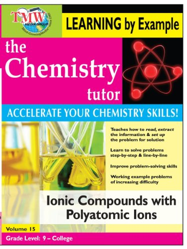 Chemistry Tutor:  Learning By Example - Ionic Compounds with Polyatomic Ions