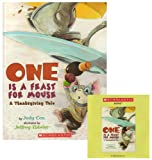 img - for One Is a Feast for Mouse (A Thanksgiving Tale) (CD & Paperback) book / textbook / text book