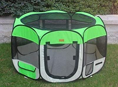 Large Green Pet Tent Exercise Pen
