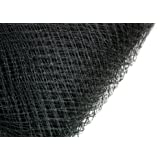 3 Yards Russian Netting French Veil Birdcage Netting Bridal (Black)