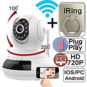 WantSee Wireless Wifi Ip/network Video Monitoring 720p