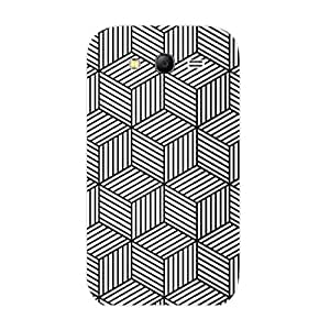Designer Phone Case Cover for SamsungGrand3 Hexa Lines