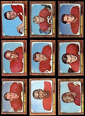 1966 Topps Kansas City Chiefs Team Set Kansas City Chiefs (Baseball Set) Dean's Cards 3 - VG