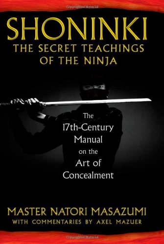 Shoninki The Secret Teachings Of The Ninja The 17th
