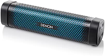 Denon Envaya Mini Portable Premium Bluetooth Speaker with NFC - Black/Blue(DSB100BKEM)