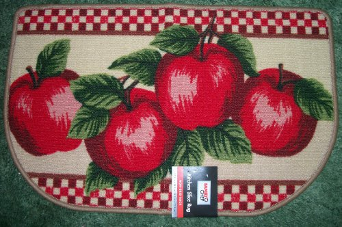 Apple Kitchen Slice Rug