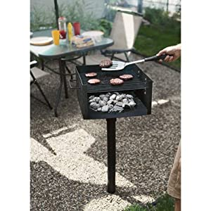 Commercial Grade Park-Style Grill - 256 sq. in.