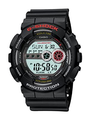 Casio Men's GD100-1ACR G-Shock X-Large Black Multi-Functional Digital Sport Watch