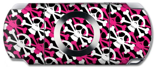 Wrapstar Pink Skully Graphic Skin (Nintendo DS/PSP)
