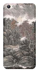 TrilMil Printed Designer Mobile Case Back Cover For Vivo X6Plus
