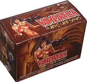 Vampirella Trading Cards Box [Breygent Marketing]