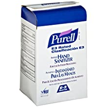 PURELL 2163-08 E3 Rated Instant Hand Sanitizer, 1,000 mL NXT Space Saver Refill (Case of 8)