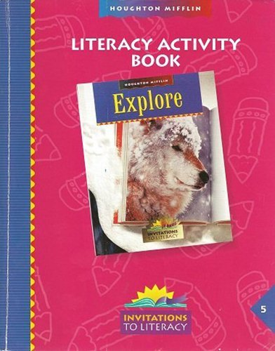 Reading, Grade 5 Lit Activity Book: Houghton Mifflin Reading (Itl Reading 1999 2001)