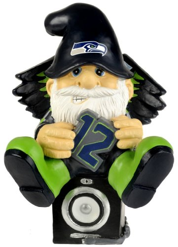 NFL Seattle Seahawks Thematic Gnome - 2nd Version at Amazon.com