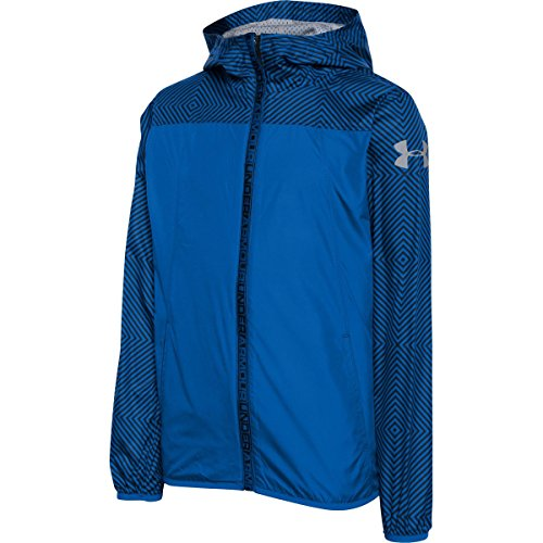 Under Armour Evaporate Packable Woven Jacket - Boys' Ultra Blue/Ultra Blue/OCG, S