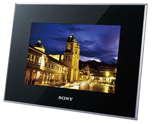 SONY デジタルフォトフレーム S-Frame X75 7.0型 内蔵メモリー2GB ブラック DPF-X75/B ソニー