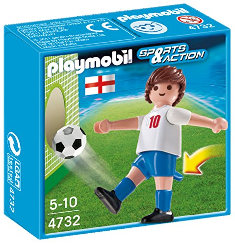 PLAYMOBIL England Soccer Player Toy - 1