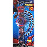 Spider Man 24 Images Projector Watch Cool Gift For Your Kid