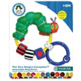 Very Hungry Caterpillar clear ring baby rattle