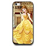 Disney Cartoon Beauty and The Beast, Hard Plastic Case for iPhone 5c - Personalized Disney iPhone 5c Case - Black