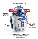 Car Chargers Best Deals - スターウォーズ R2-D2 USB 車載充電器 iPhon, iPad, Androido対応(並行輸入品)